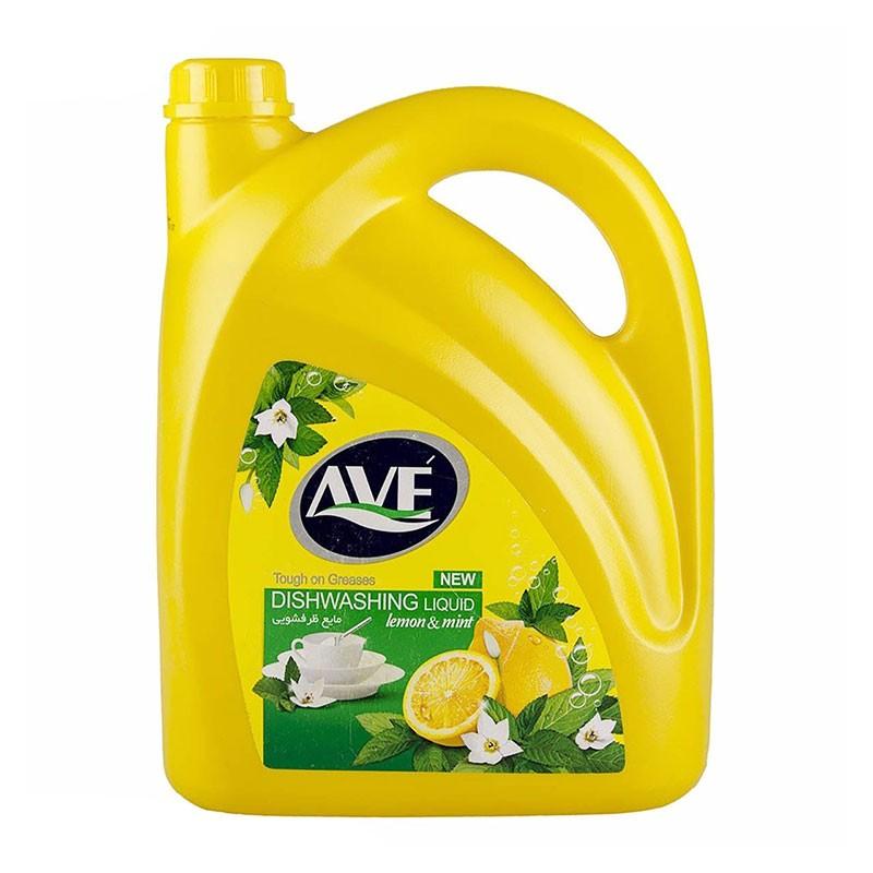 مایع ظرفشویی با رایحه لیمو اوه 3750 گرم