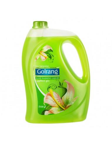 مایع دستشویی صدفی سبز 3500 گرمی گلرنگ