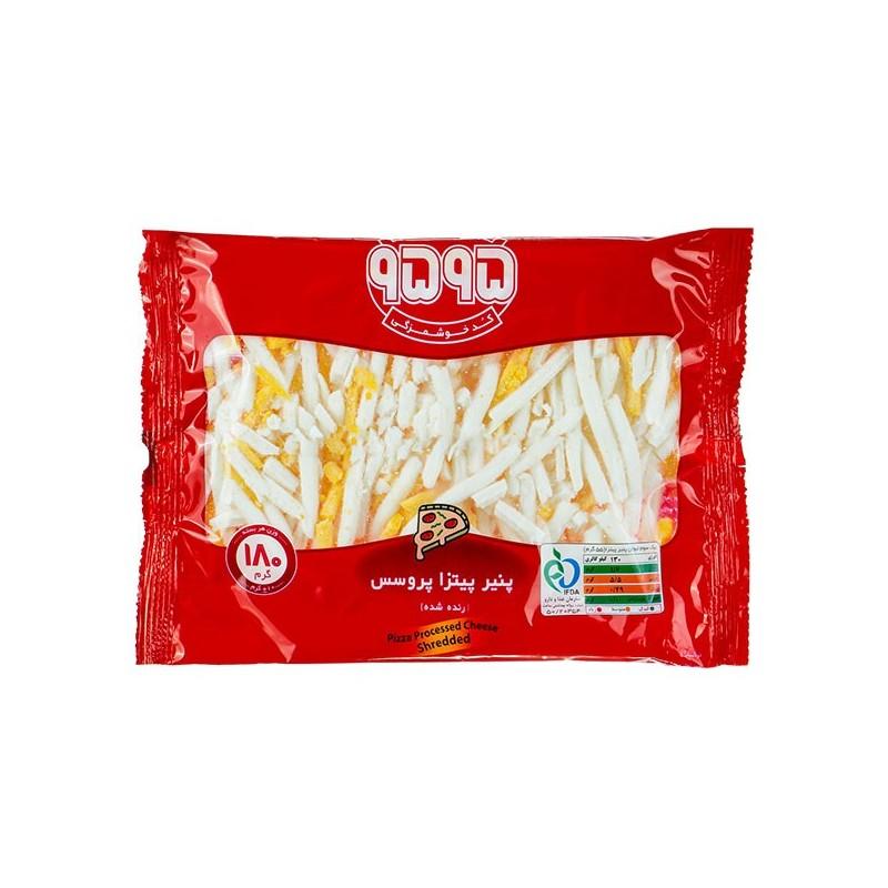 پنیر پیتزا تاپینگ رنده شده 9595  180 گرم